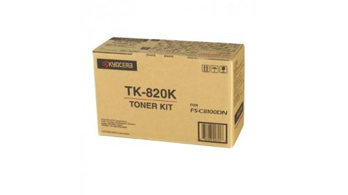 Kyocera TK-820K тонер картридж