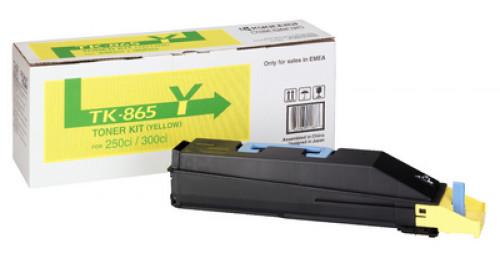 Kyocera TK-865Y тонер картридж